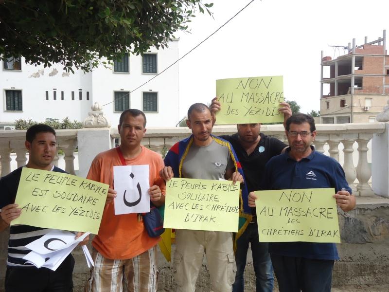 Rassemblement de soutien aux chrétiens d'Irak et aux Yézidis à Aokas (20/09/2014) Dsc02455