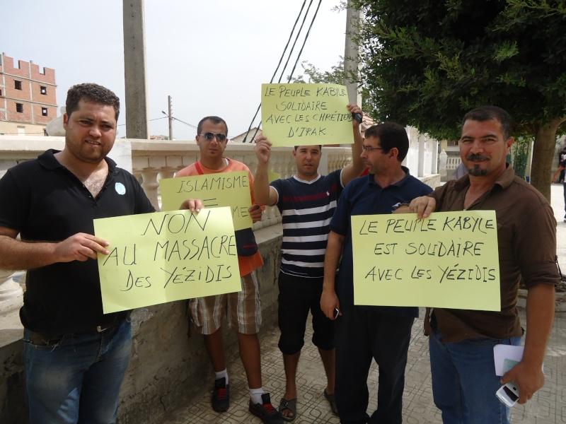 Rassemblement de soutien aux chrétiens d'Irak et aux Yézidis à Aokas (20/09/2014) Dsc02458