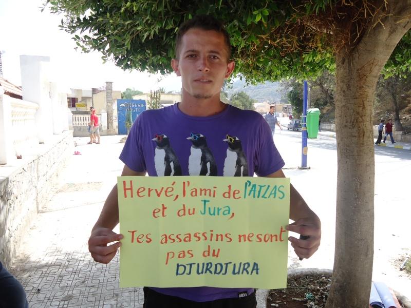 Hommage à Hervé Gourdel à Aokas (28/09/2014) Dsc02628