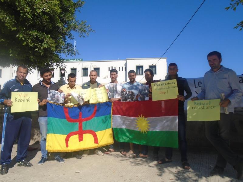 journée mondiale de soutien à «KOBANÊ» ( Aokas 01/11/2014) File1710