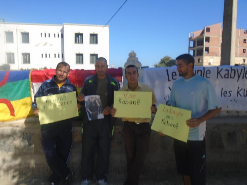 Journée mondiale de soutien à «KOBANÊ» : Manifestation le 1er novembre 2014 à Aokas File1712
