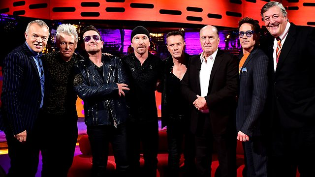 Questa sera: U2 a The Graham Norton Show - BBC One Graham10