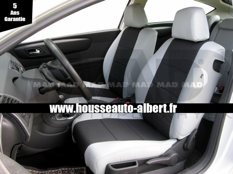 [PARTENAIRE] Housse de sièges sur mesure Albert Premium Housse10