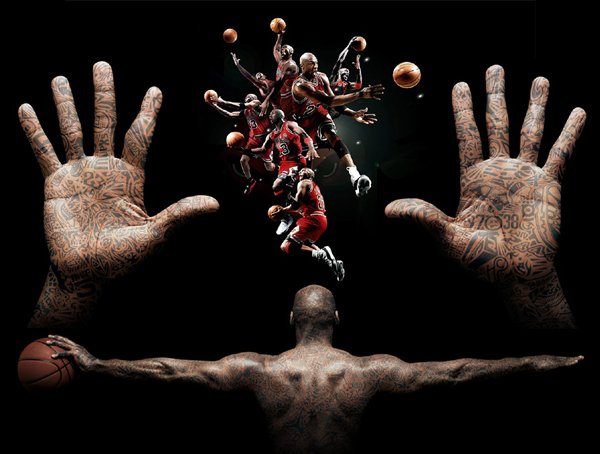 Michael 'Air' Jordan: hands of a basketball superstar! Michae10