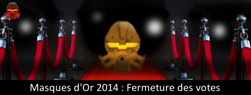 [Concours] Masques d'Or 2014 : fin des votes ! Masque11