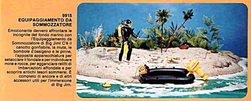 EQUIPAGGIAMENTO DA SOMMOZZATORE/ DIVE TO DANGER No. 9915 0911