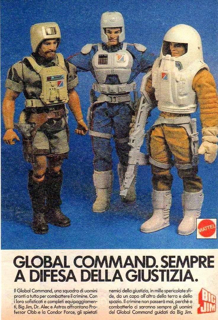 PUBBLICITA' ITALIANE Global Command VS Condor Force Global10