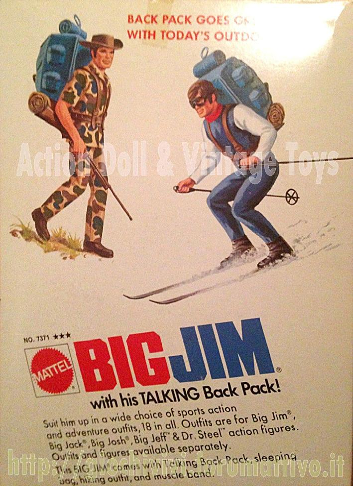 BIG JIM with his TALKING Back Pack!  No. 7371 Retro_10