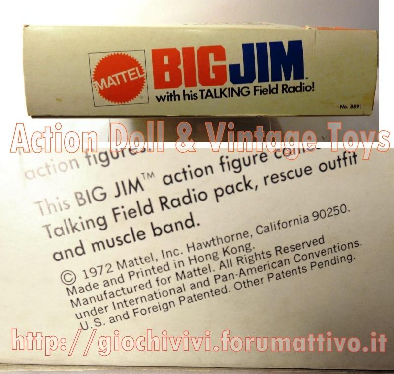 BIG JIM With His TALK FIELD RADIO No. 8891 Talk_012