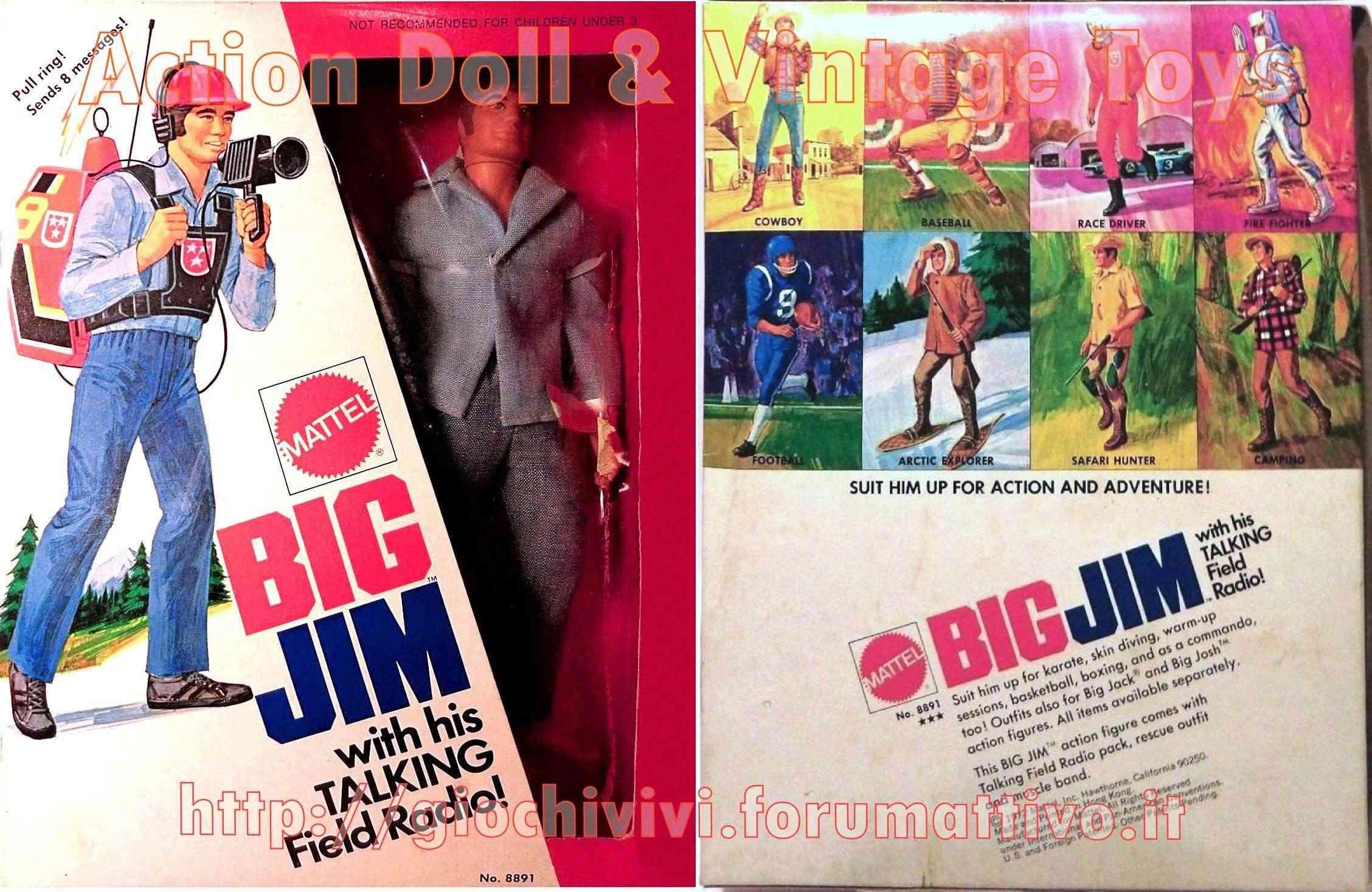 BIG JIM With His TALK FIELD RADIO No. 8891 Talk_020