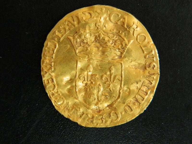 atelier pour ecu d'or charles IX Dscn5214