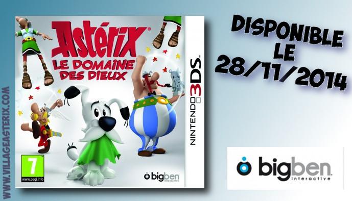 Asterix Le Domaine Des Dieux - Jeux Officiel Nintendo 3ds Du Film (novembre 2014)  3dsast10