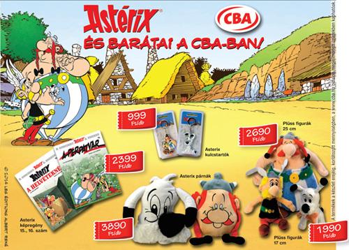"""Albums et cartes 3D avec Astérix à collectionner en Hongrie dans les magasins """"CBA PRIMA"""" du 15 octobre au 31 décembre 2014 Asteri17"""