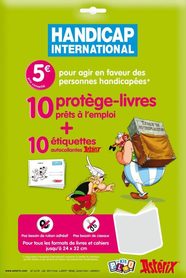 Kit Plio Asterix - handicap international. (2014) Plio2010