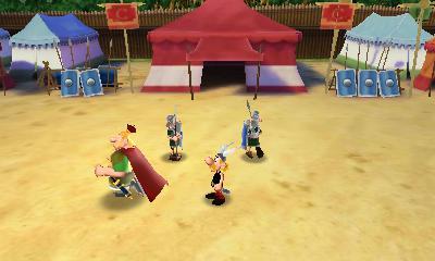 Asterix Le Domaine Des Dieux - Jeux Officiel Nintendo 3ds Du Film (novembre 2014)  Screen10