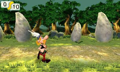 Asterix Le Domaine Des Dieux - Jeux Officiel Nintendo 3ds Du Film (novembre 2014)  Screen12
