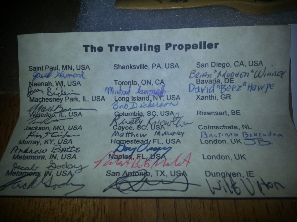 Where has the Traveling Prop Been? - Page 24 20140713