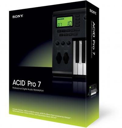 SONY ACID PRO 7.E  (Build 713) + License + Crack Sony_a10