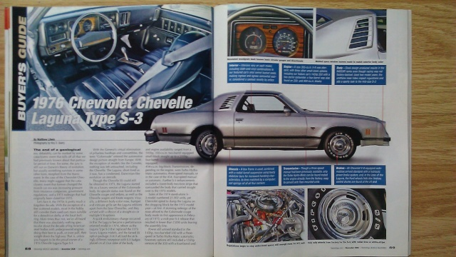 Hemmings 2006 Article on 1976 Laguna 1976la10