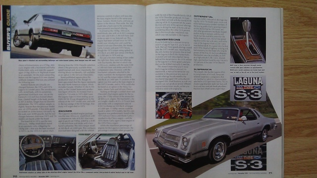 Hemmings 2006 Article on 1976 Laguna 1976la11