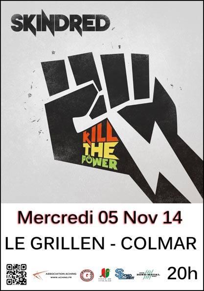 SKINDRED le 05 Novembre 2014 - Le GRILLEN Colmar. 10690210