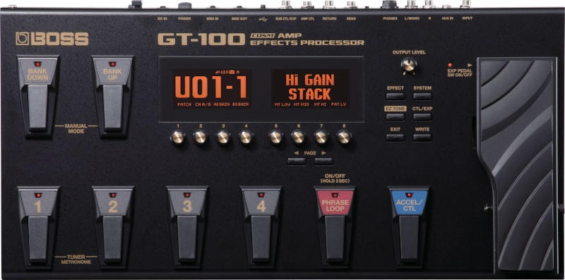 BOSS GT 100  (Pour Guitare) Gt-10010