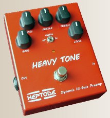 HEAVY TONE (Pédale d'effet Made in France) Pedale10