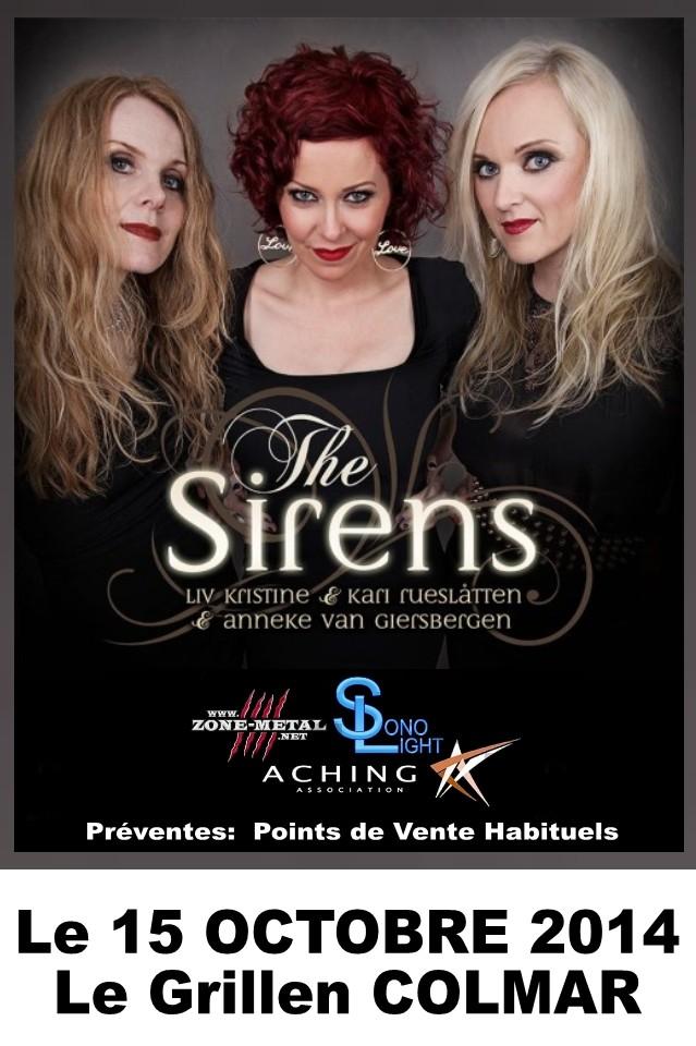 THE SIRENS  - Le 15 Octobre 2014 COLMAR Le Grillen Slach010