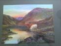 Unsigned Highland Cattle landscape in pastels (i think) 1976 Image333