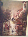 oil painting think maybe french? signed Image334