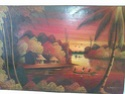 Oil painting Africa? Signed N Joseph Image335