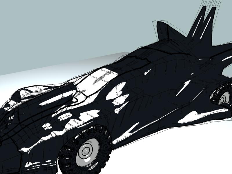 The batman car image update 510