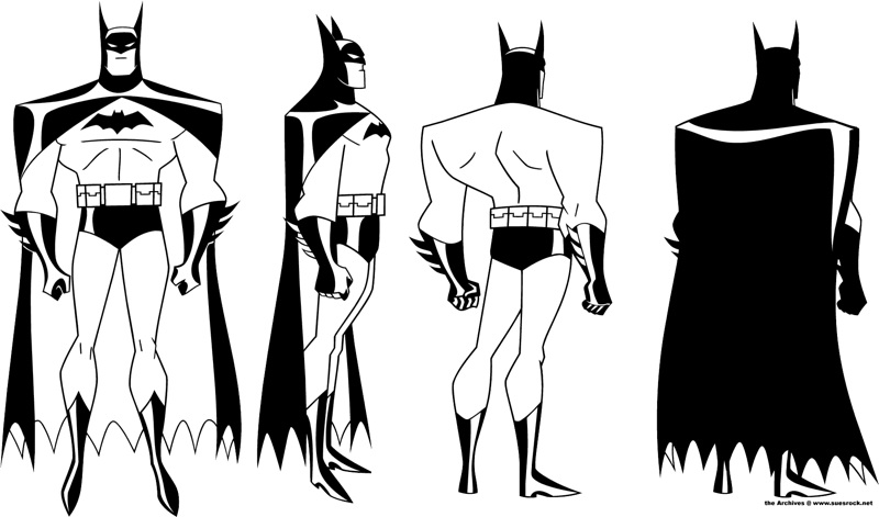 The process of my project 1 Batman10