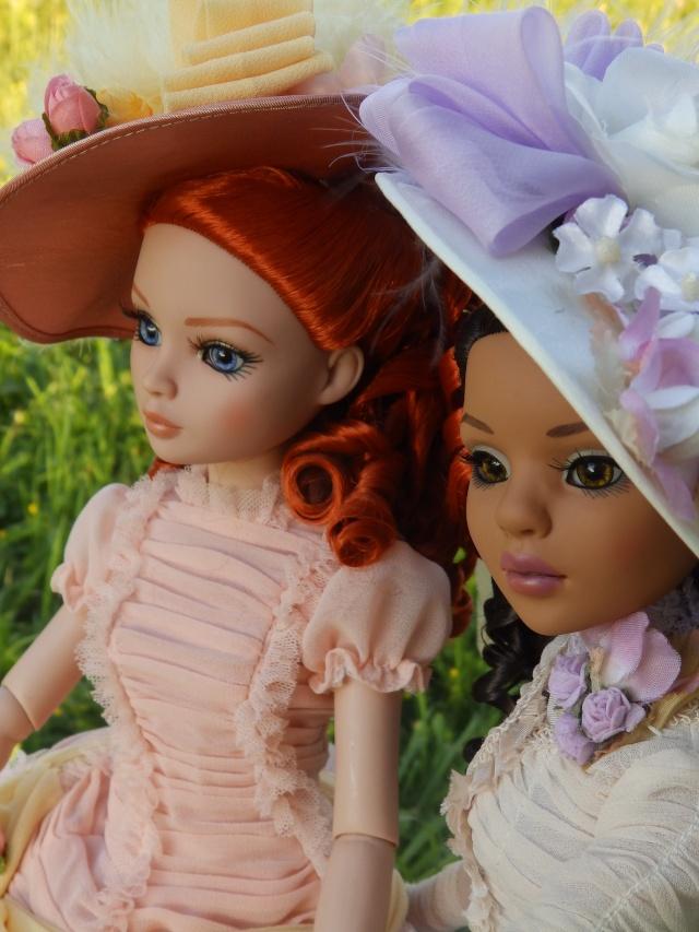 Ellowyne et Lizette Vintage confusion par Maman poule P7141316