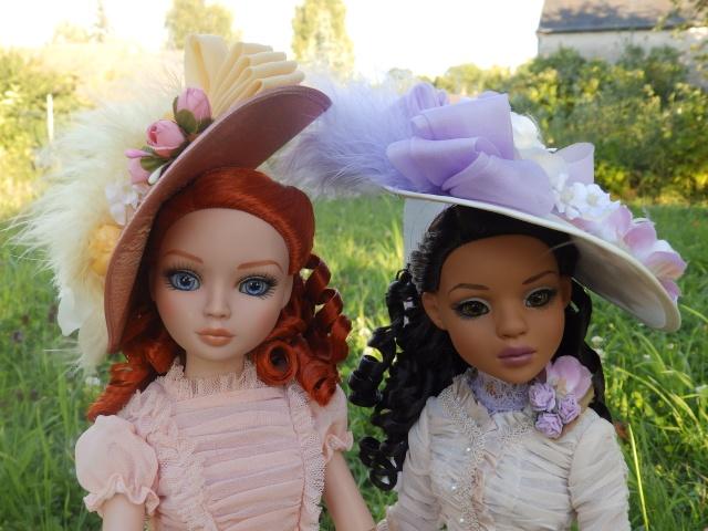 Ellowyne et Lizette Vintage confusion par Maman poule P7141317