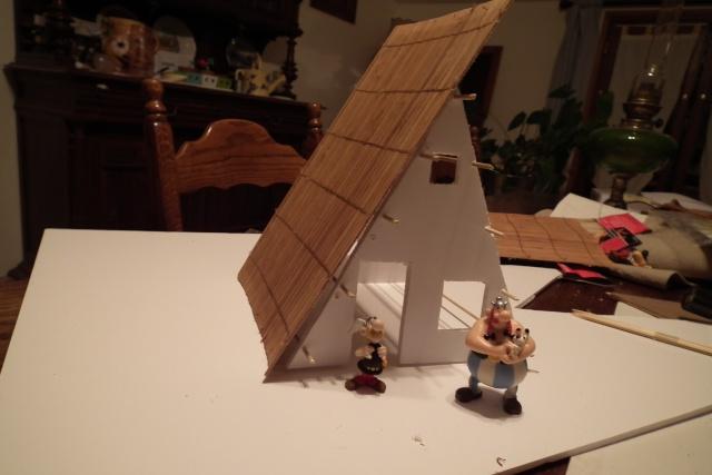 Petite maquette du village. Dscf7710