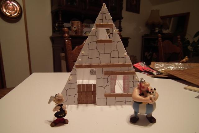 Petite maquette du village. Dscf7711