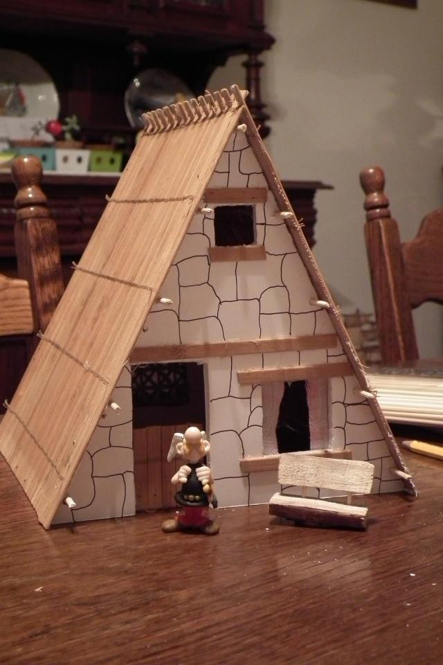 Petite maquette du village. Dscf7712