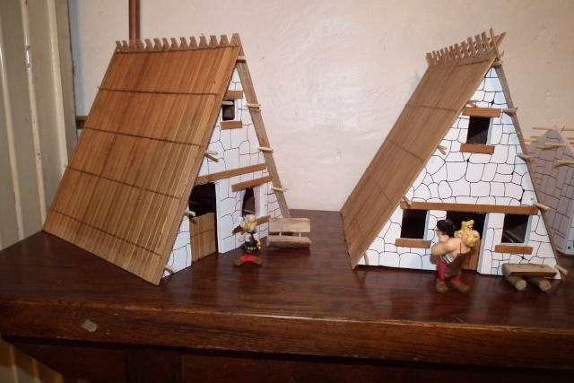 Petite maquette du village. Dscf7713