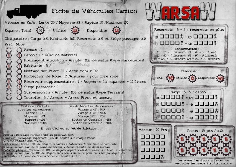 [WarsaW] règles de gestion de véhicules - 90 % Fiche-11