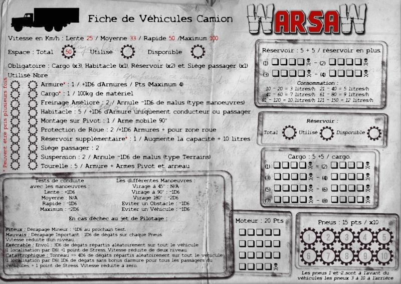 [WarsaW] règles de gestion de véhicules - 90 % Fiche-12