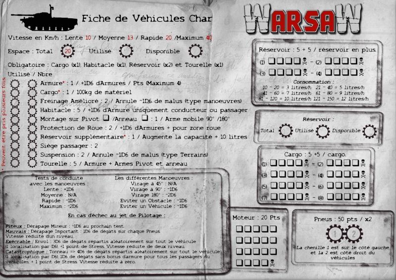 [WarsaW] règles de gestion de véhicules - 90 % Fiche-14
