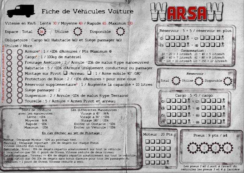 [WarsaW] règles de gestion de véhicules - 90 % Fiche-18