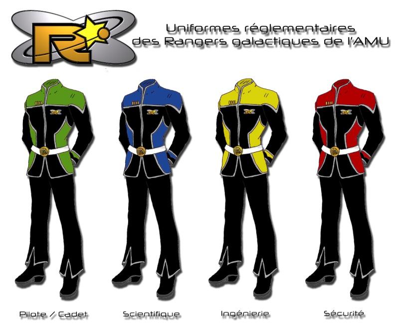 [Final Frontier] Uniformes réglementaires des Rangers galactiques 100% Unifor13