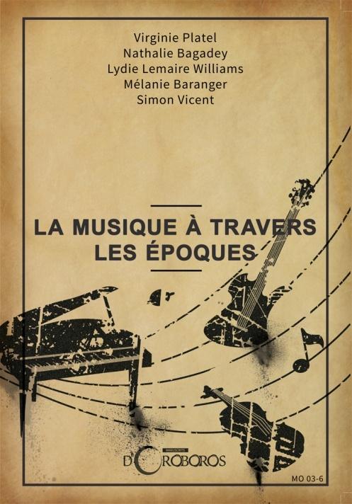 La musique à travers les époques - Recueil de nouvelles Couver10
