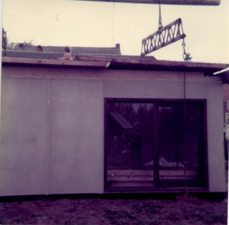 Maison préfabriqué transformée en traditionnelle. 3811