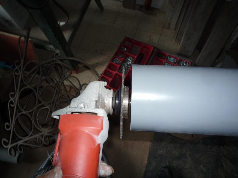 Construction d'un abri pour aspirateur à copeaux suite P1020826