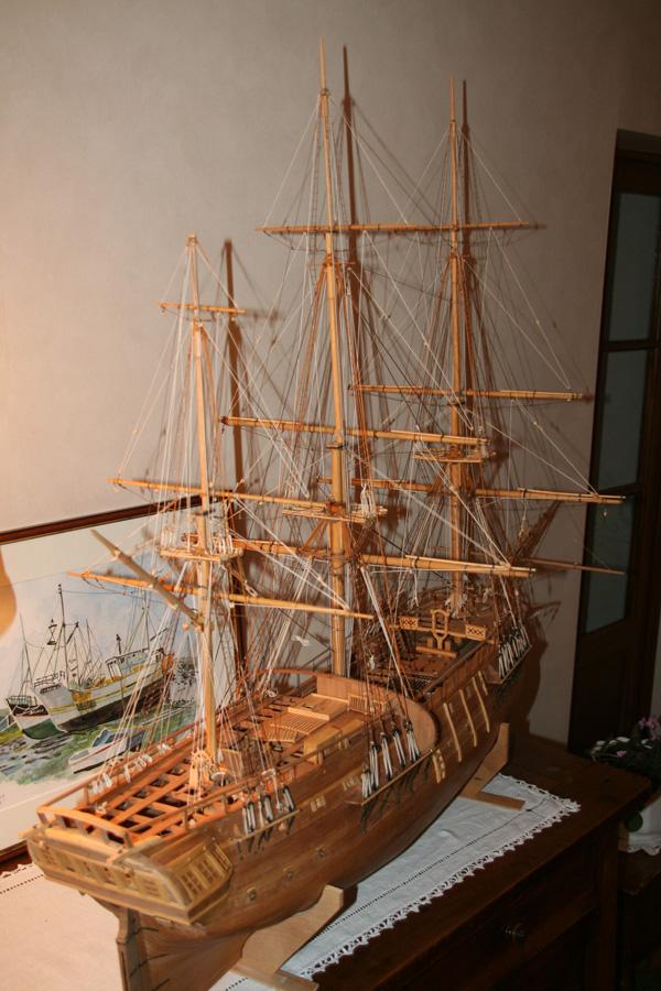 Aurore  navire négrier de J.Boudriot ech:1/36  - Page 8 001_2c11