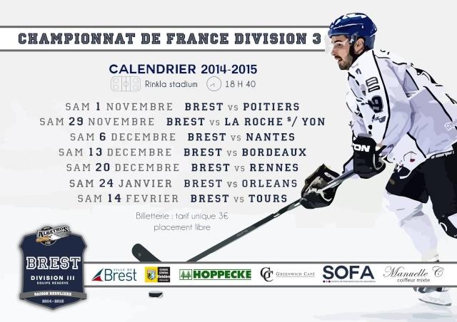 Division 3 : 2014-2015  Calend10