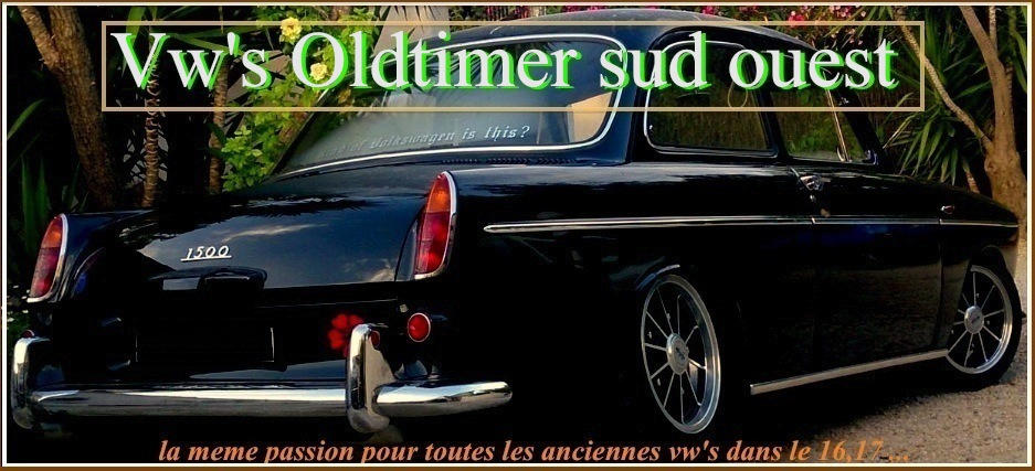 vw's Oldtimer sud ouest